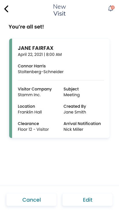 New-Visit-Confirmation