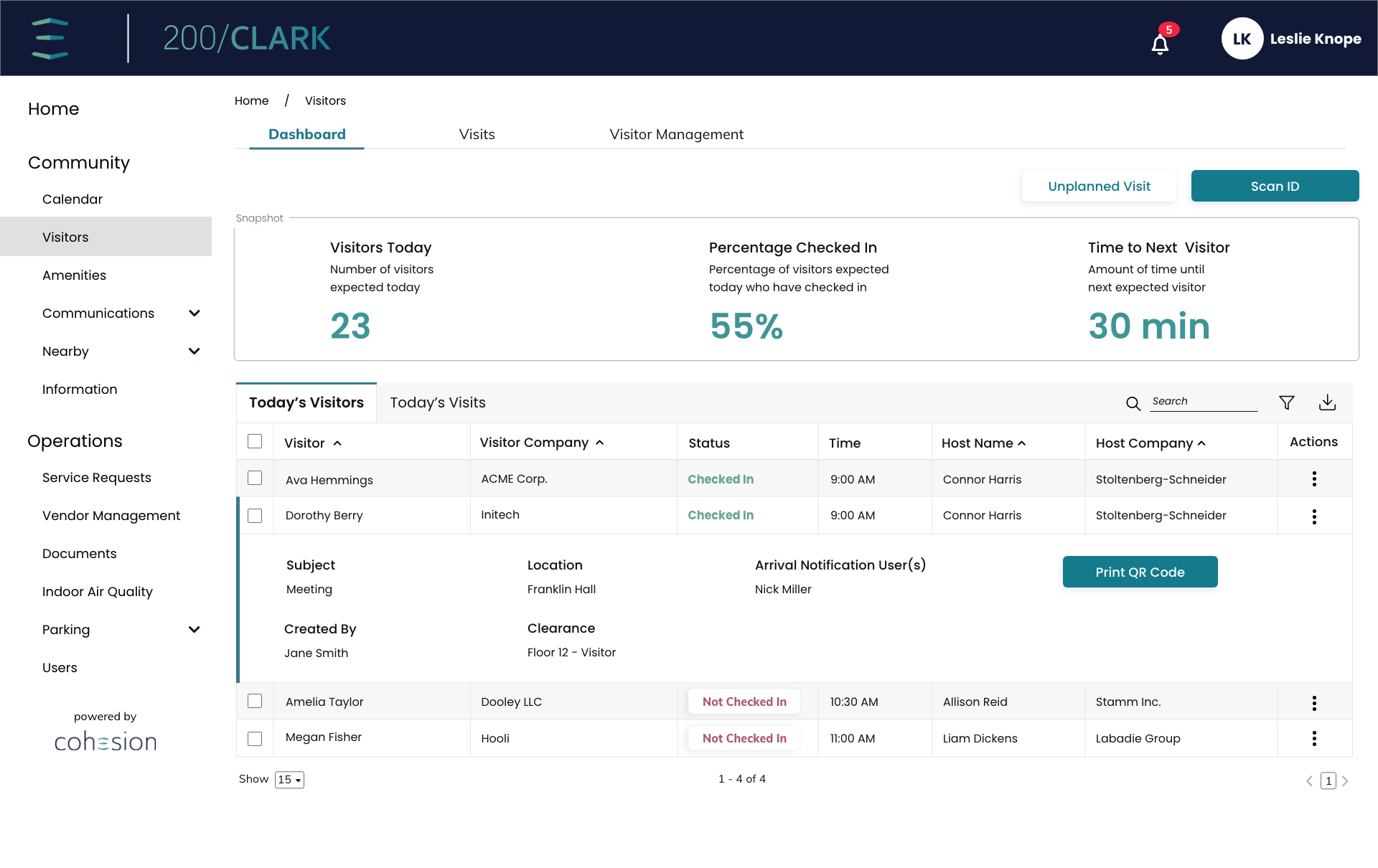 Tenant-Manager-Dashboard-Today's-Visits-Expanded